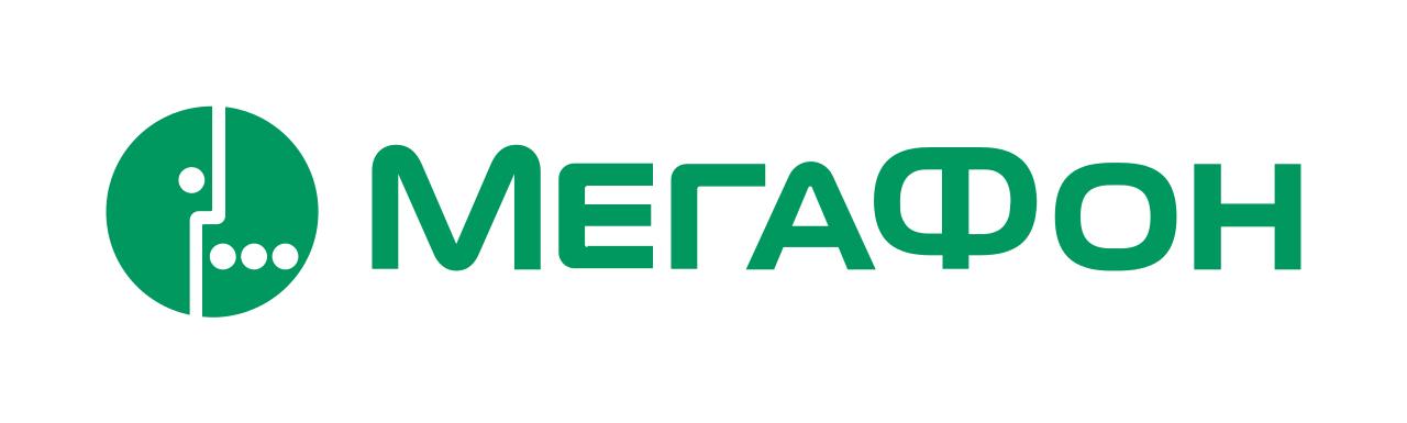 """На фото изображен логотип компании """"МегаФон""""."""