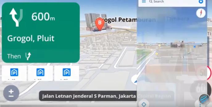 На фото изображено приложение Sygic GPS Navigation & Maps