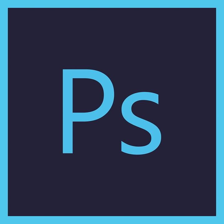 На фото изображен логотип Adobe Photoshop
