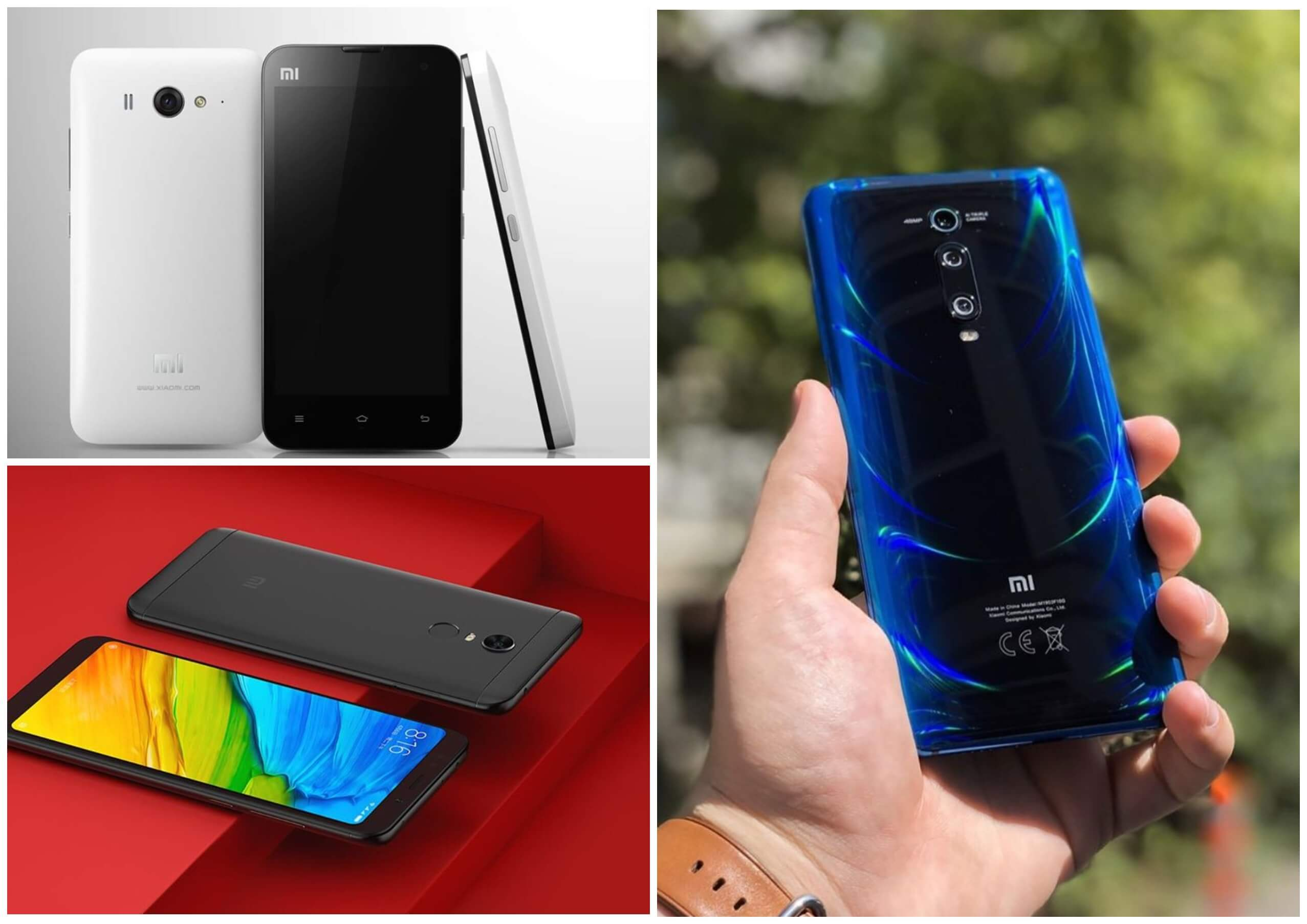 На фото изображены телефоны Xiaomi.