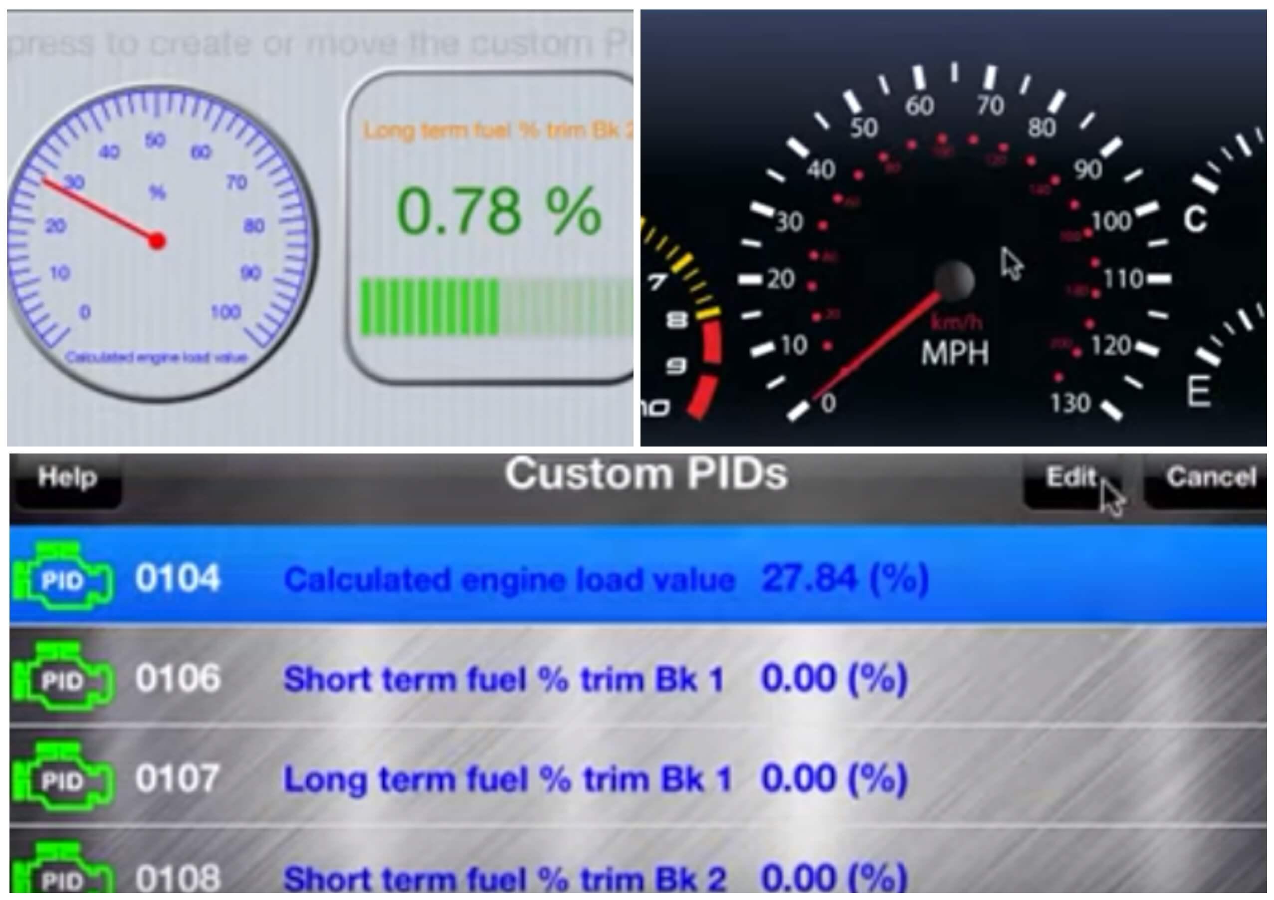 На фото изображено приложение Engine link.