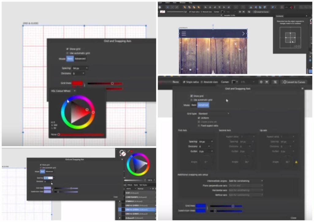 На фото изображена программа Affinity Designer.