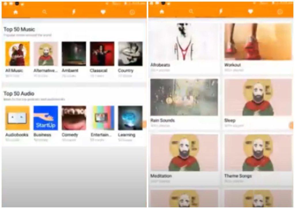 На фото изображено приложение SoundLoadie.