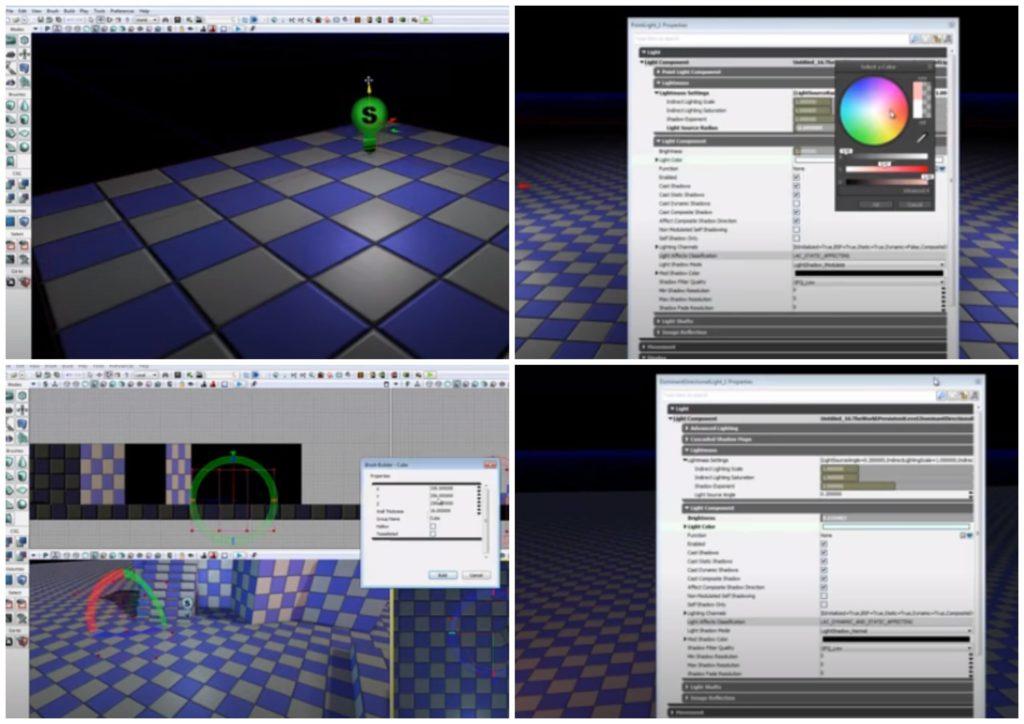 На фото изображена программа Unreal Development Kit (UDK).