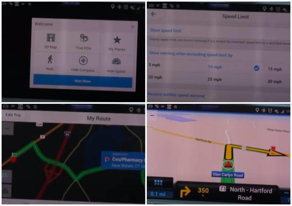 На фото изображено приложение CoPilot GPS.