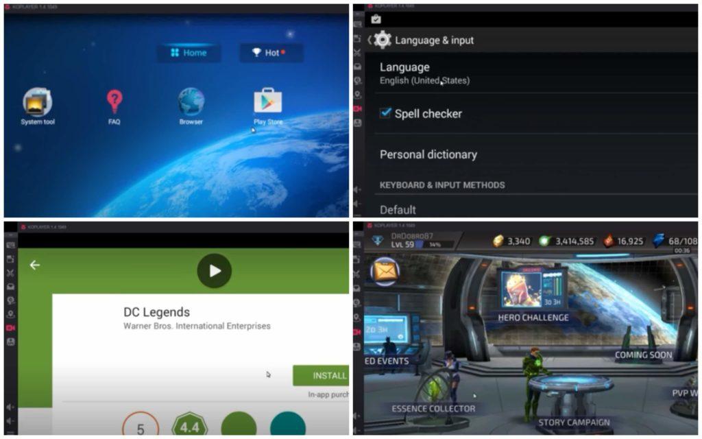 На фото изображена программа Ko Player.