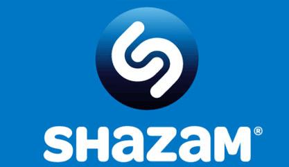 На фото изображен логотип приложения Шазам.