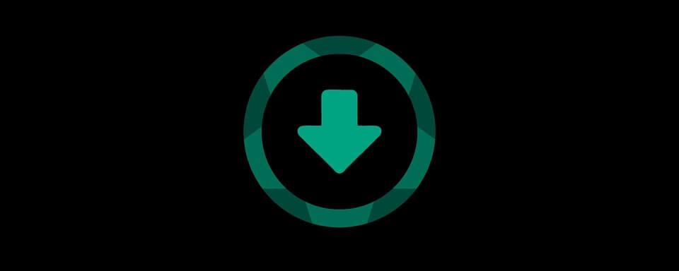 На фото изображена иконка скачивания.