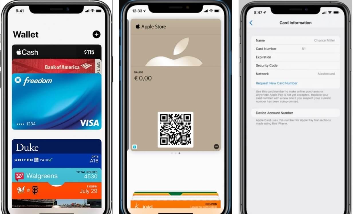 На фото изображено приложение Apple Wallet.